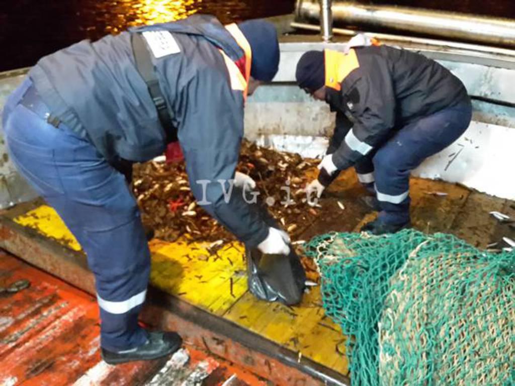 Pesca a strascico vicino a Capo Cervo, super multa a comandante