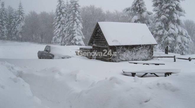 Neve nelle valli, 6 febbraio