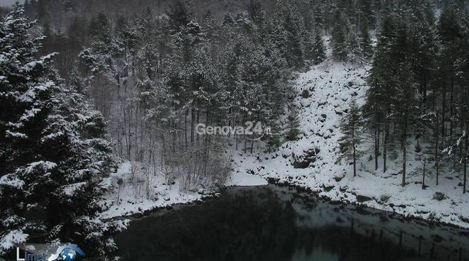 Nevicata del 4 febbraio, entroterra imbiancato
