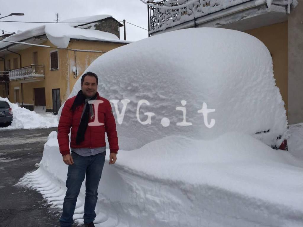 sindaco roccavignale amedeo fracchia neve