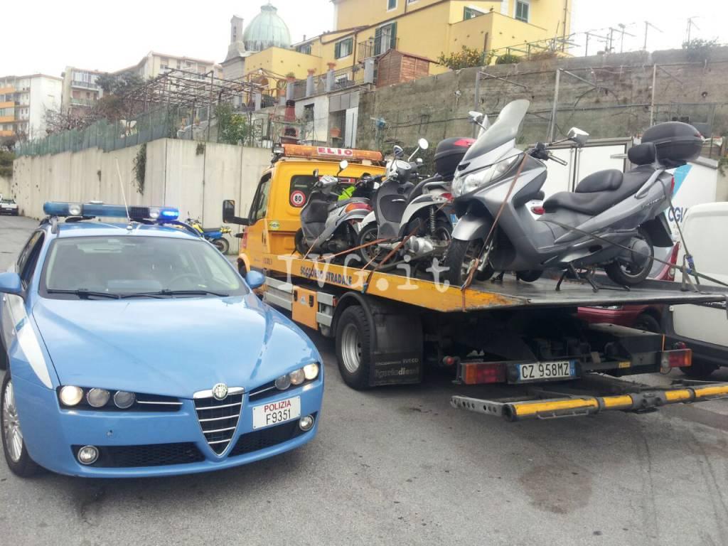 scooter rubati savona polizia stradale