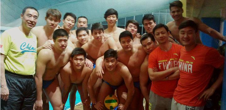 Shangai Waterpolo Team