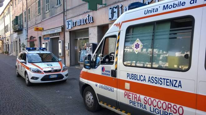 ambulanza pietra soccorso
