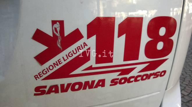 118 savona soccorso