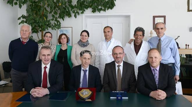 Accordo tra Gaslini e ministero del Kosovo