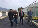 Albenga, la visita del sottoseg. Erasmo De Angelis