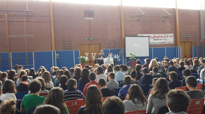 Borghetto, Maria Falcone incontra gli studenti delle scuole