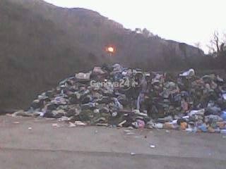 centro raccolta rifiuti di Tonnego a Rapallo