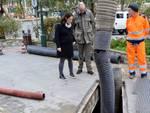Dragaggio torrenti a Santa Margherita