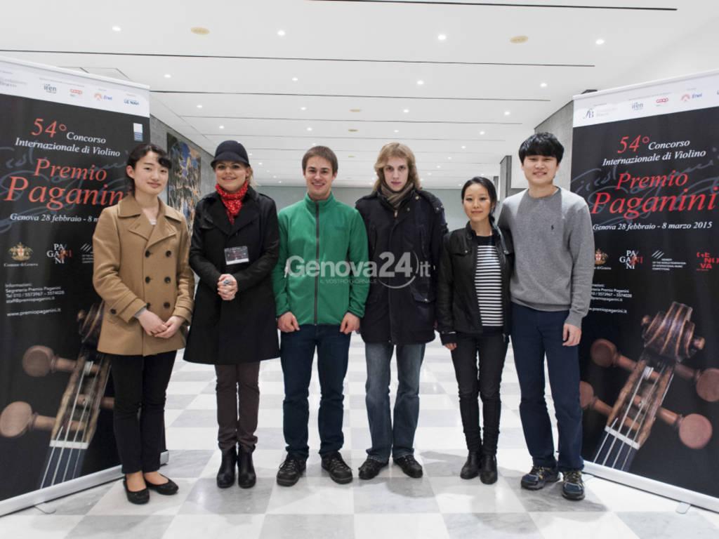 Finalisti Premio Paganini