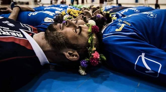 Il flower bearding del CSV Albenga
