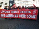 La Fiom di Genova a Roma con Landini