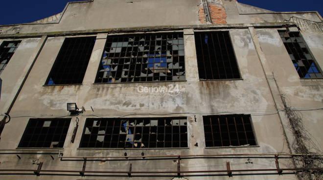 Le ex fonderie di Multedo