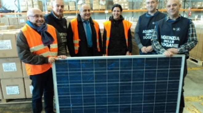 mele consegna pannelli solari
