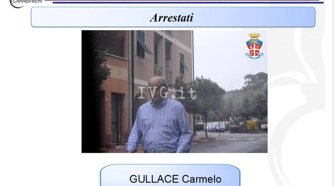 Operazione Real Time, arrestato Gullace