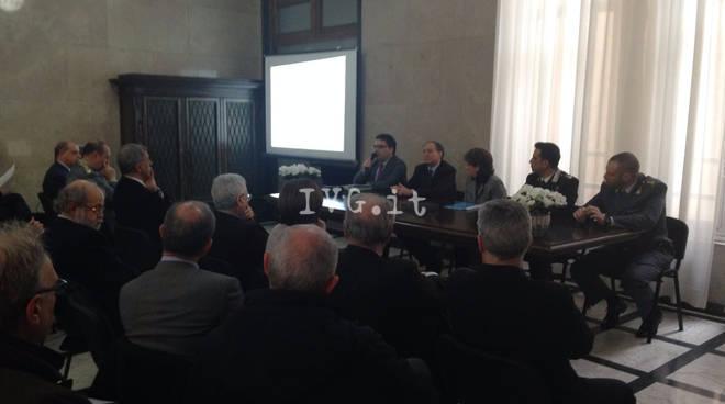 Savona, sottoscritto in prefettura il nuovo protocollo sulla legalità