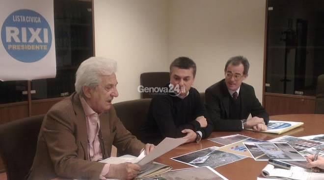 Sergio Castellaneta, Edoardo Rixi, Matteo Rosso