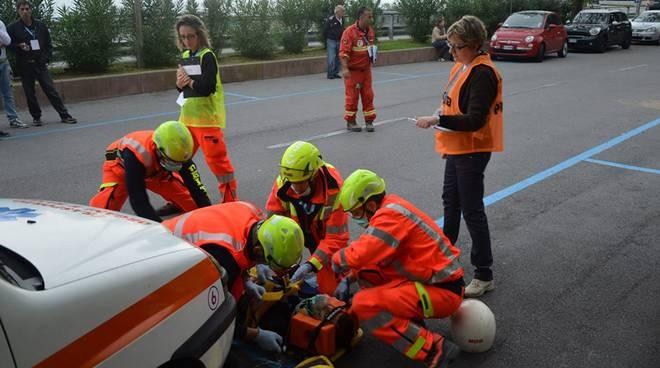 triathlon del soccorso simulazione