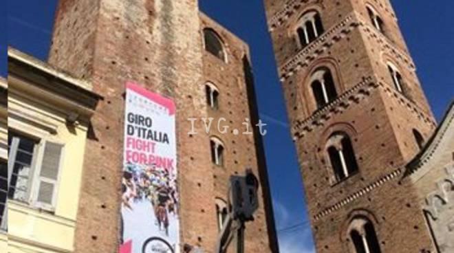 Albenga Striscione Giro