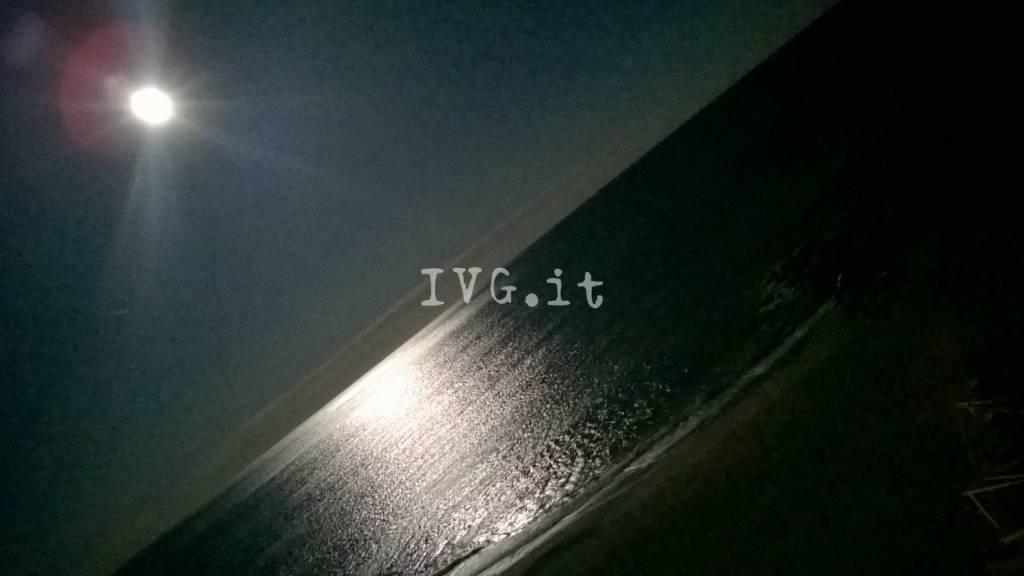Luna Notte Mare