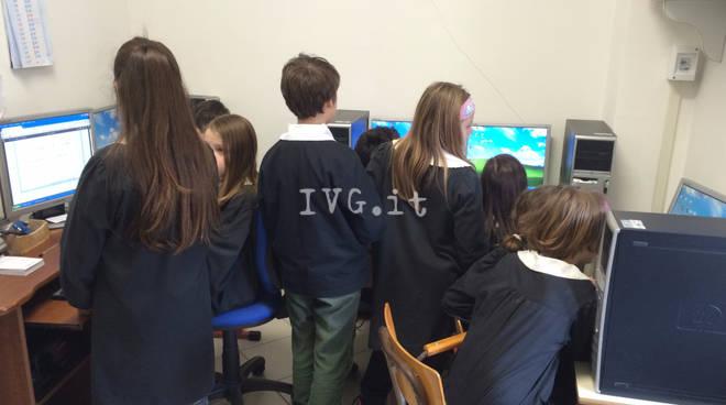 Casanova Lerrone Scuola Aula Informatica