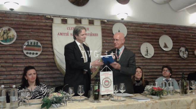 Cena AmitièSans Frontieres Club Service Savona Miazza