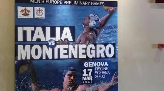 World League di pallanuoto, Italia-Montenegro