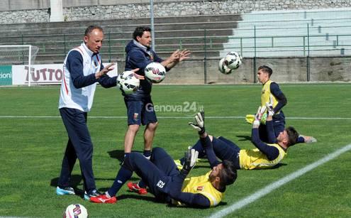 allenamento Genoa
