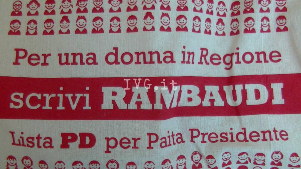 Apertura campagna elettorale Lorena Rambaudi