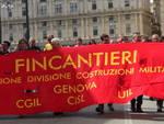 Corteo Fincantieri 29 aprile