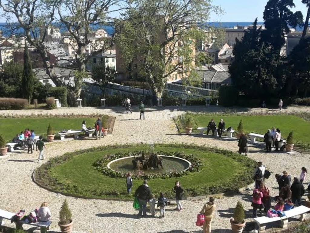 Giardino all'Italiana di Villa Duchessa di Galliera