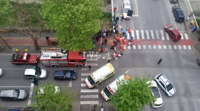 incidente Corso Ricci