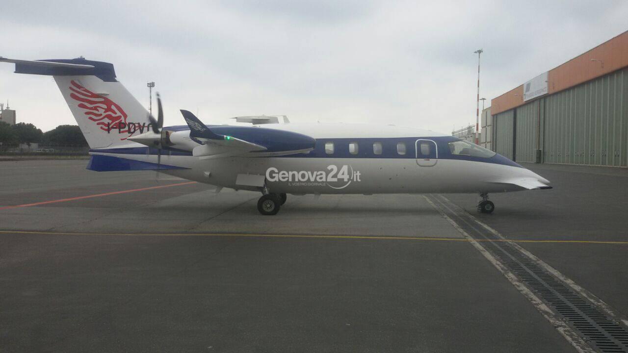 Piaggio aero, decolla da Genova il primo EVO