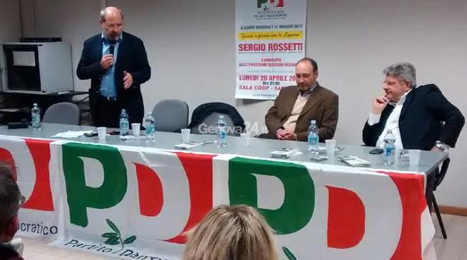 Pippo Rossetti a Busalla