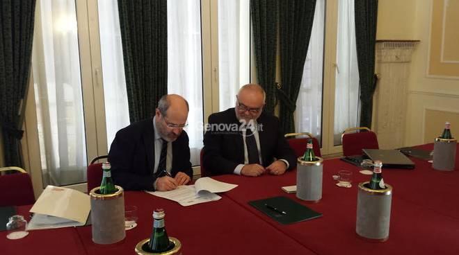 Protocollo d'intesa tra Coop Liguria e Regione