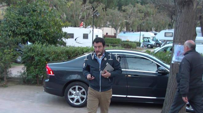 Salvini incontra la base della Lega Nord Ligure