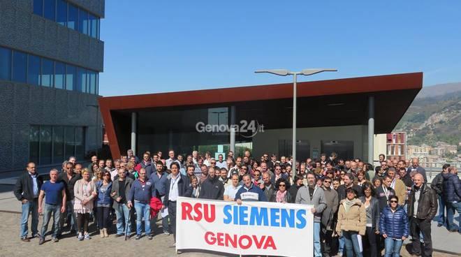 Sciopero Siemens