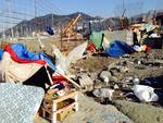 Sgombero campo rom a Chiavari