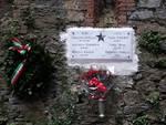 Targa per ricorda la strage di Forte Castellaccio