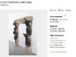 """Tesori inaspettati: trova un caminetto di Fontana in cantina e lo vende """"a sorpresa"""" per un milione e mezzo"""