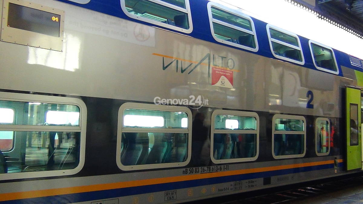 Trenitalia, consegnato alla Regione Liguria il nuovo Vivalto