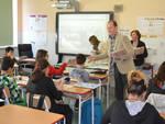 Andora Demichelis Visita Scuola