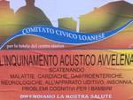 comitato civico loanese manifesti inquinamento acustico