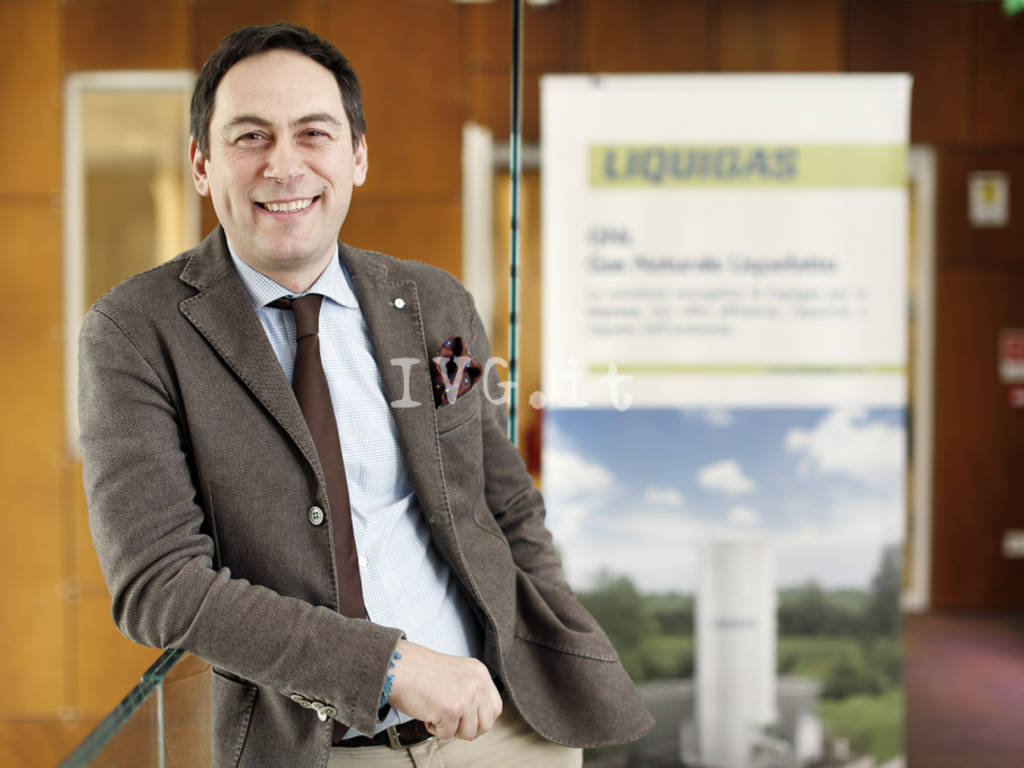 Massimiliano Montorfano Sales Manager Industrial Liquigas