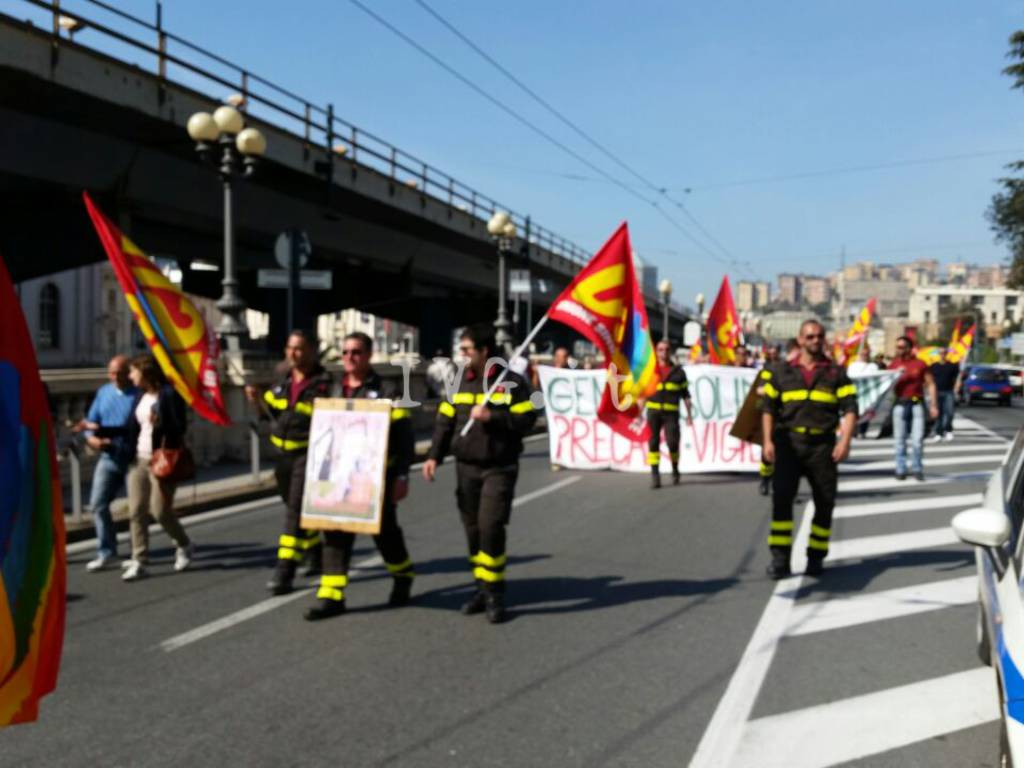 vigili del fuoco sciopero