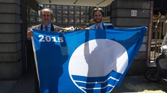 claudio mazza paolo donadoni santa margherita ligure bandiera blu