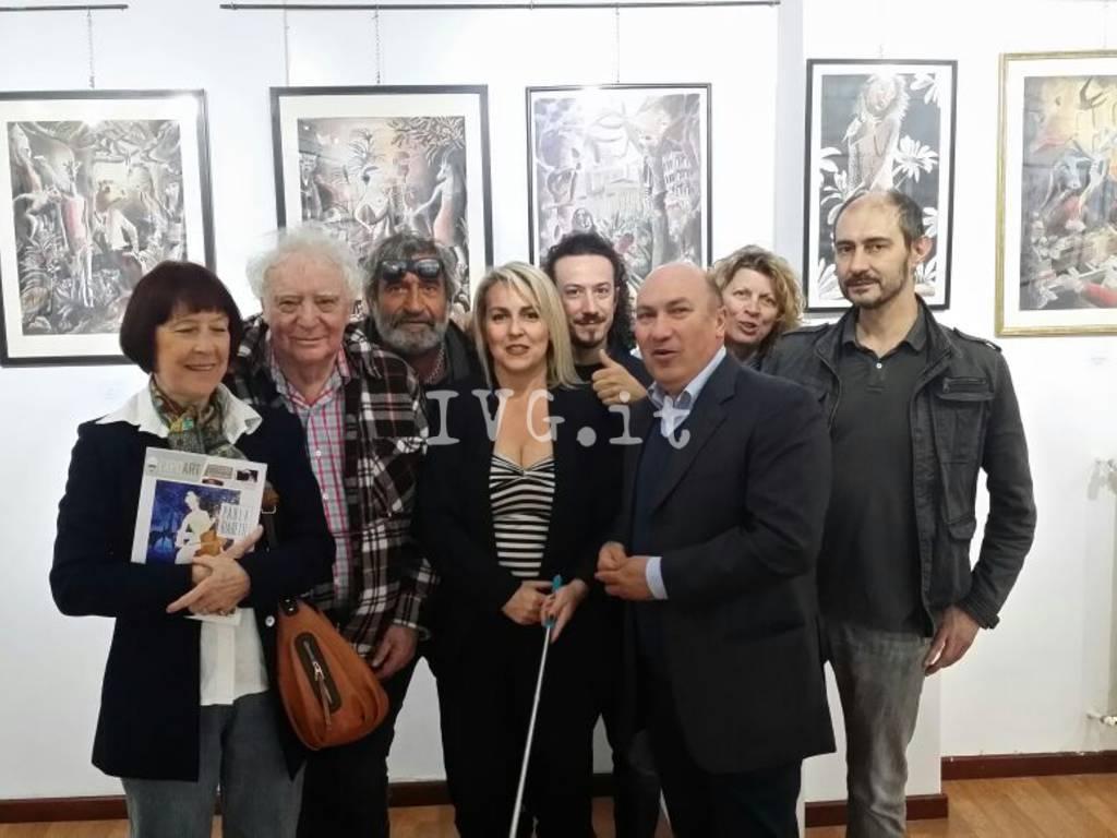 Pittore Sergio Giusto Milano