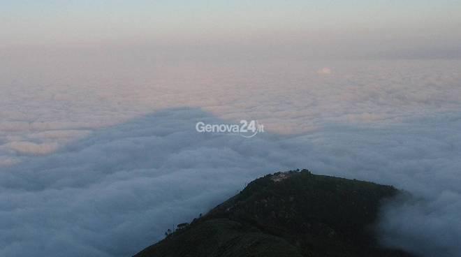 Genova dal monte Fasce