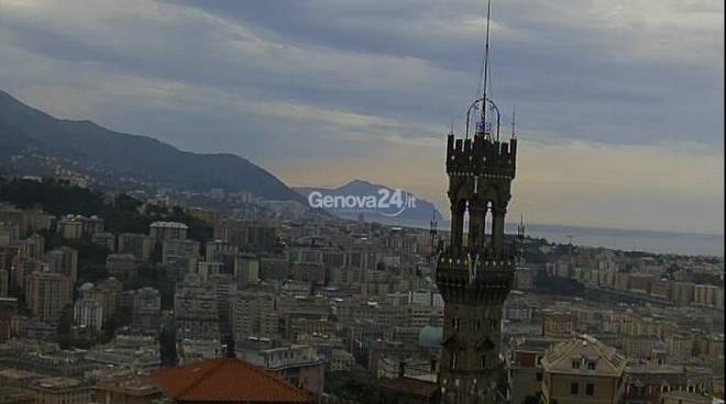 Genova, panorama da Castelletto