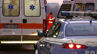 incidente ambulanza polizia